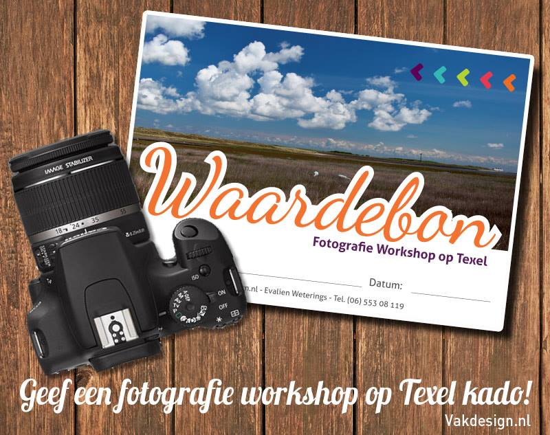 Waardebon Fotografie Workshop