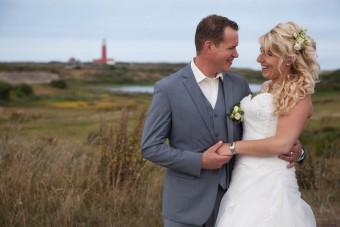 Bruiloft Lilian en Niek bij de vuurtoren