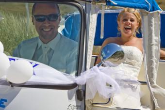 Trouwen in een tuktuk