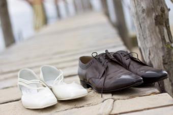 Een trouwreportage op blote voeten