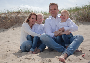 familieportret texel