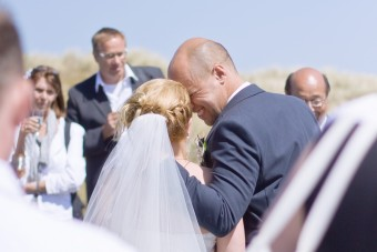 Michel en Debbie trouwen