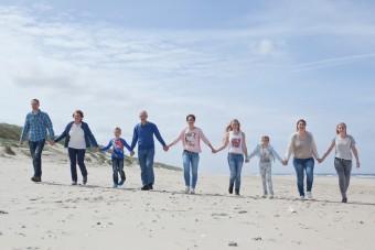 Familieportret op Texel