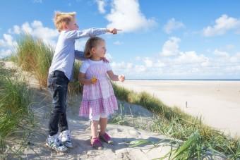 Familie fotografie vuurtoren Texel