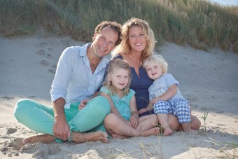 Familie fotoshoot Texel