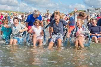 Recordpoging pootje baden