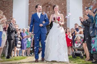 Trouwen kerk Den Hoorn