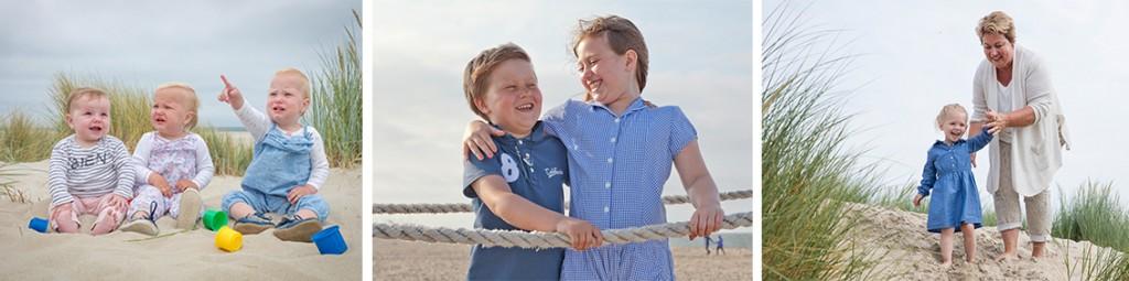 Kinderen voorbereiden op een fotoshoot